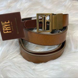 FRYE Reversible Leather Belt